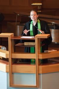 Louisa Preaching